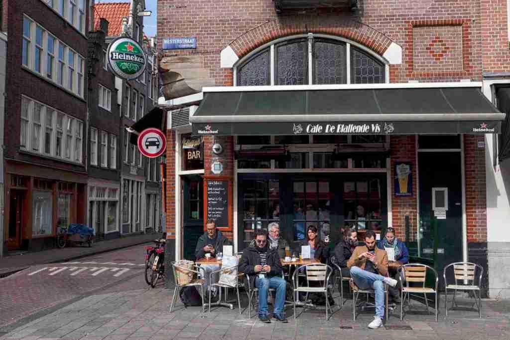 Amsterdam Cafe De Blaffende Vis