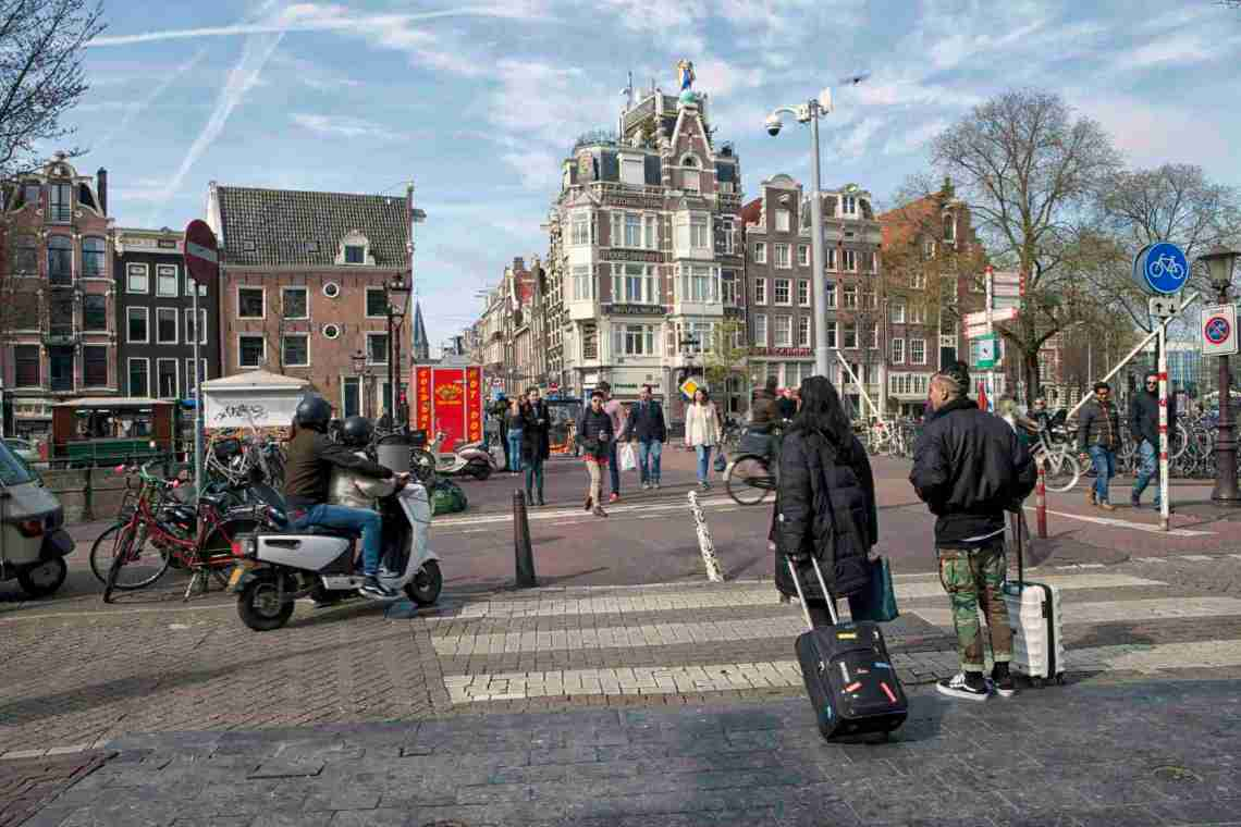 Amsterdam Tourists