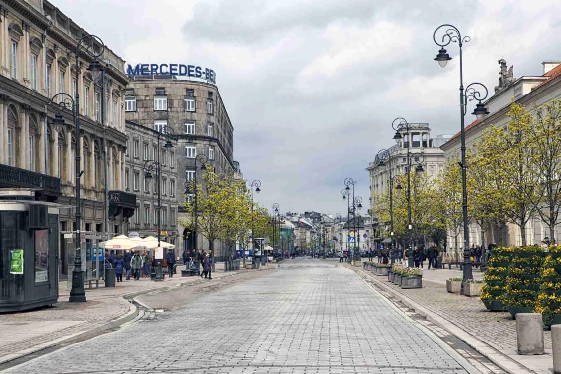 Krakowskie Przedmieście Street Waraw