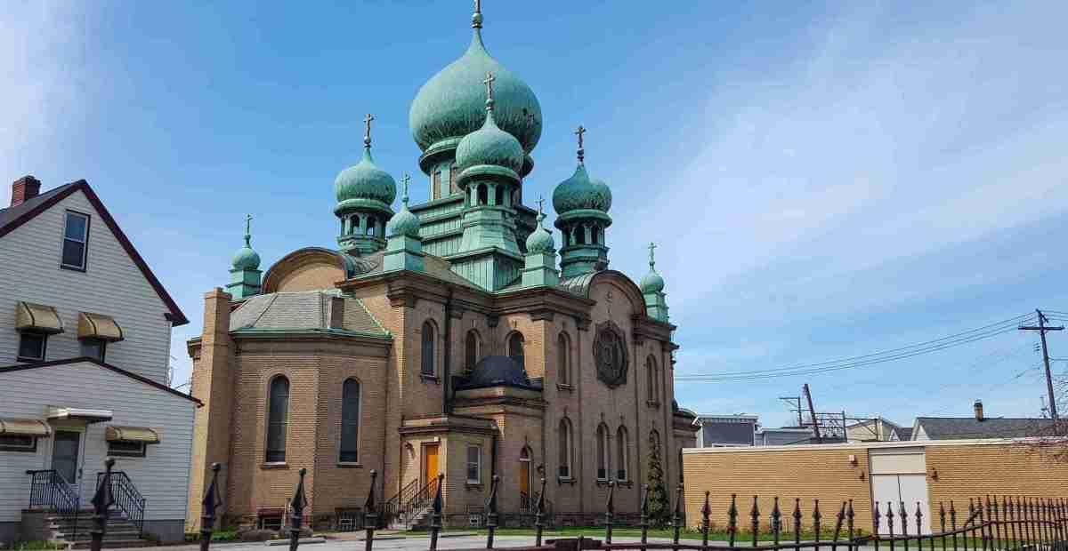 St Theodosius Russian Orthodox Church - Cleveland