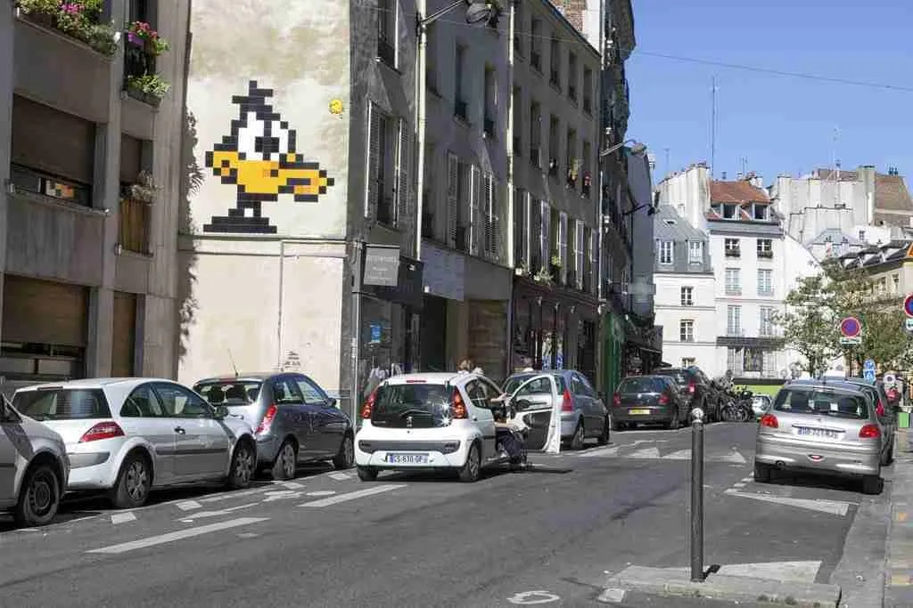 Daffy Duck Art Paris
