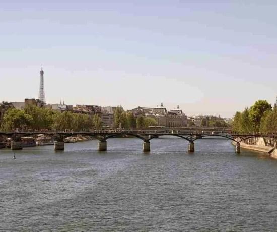 Eifel Tower Pont Neuf Paris