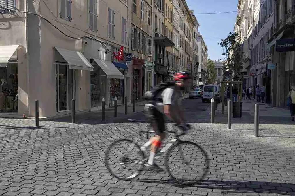 Marseille France Cyclist