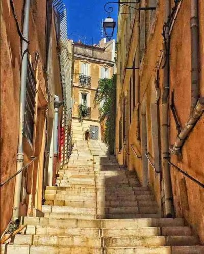 Marseille France Stairs