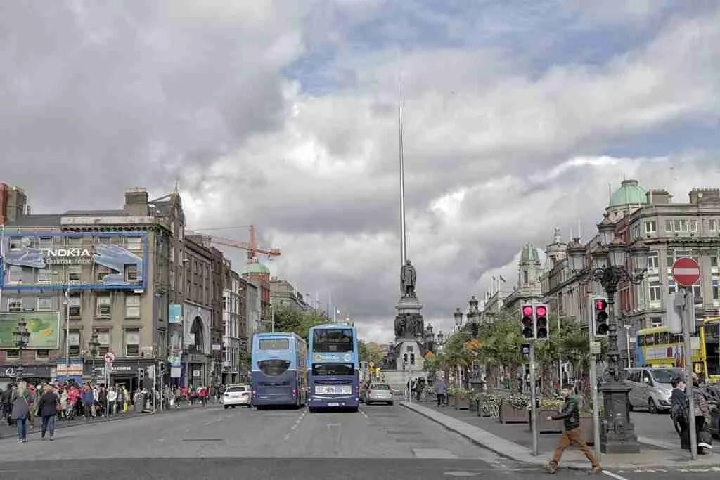 Dublin Ireland City Center
