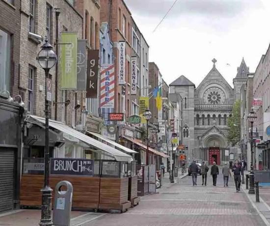 Dublin Ireland Grafton Street