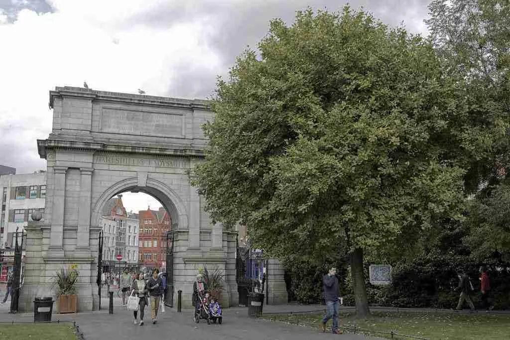 Dublin Ireland St. Stephen's Green Park