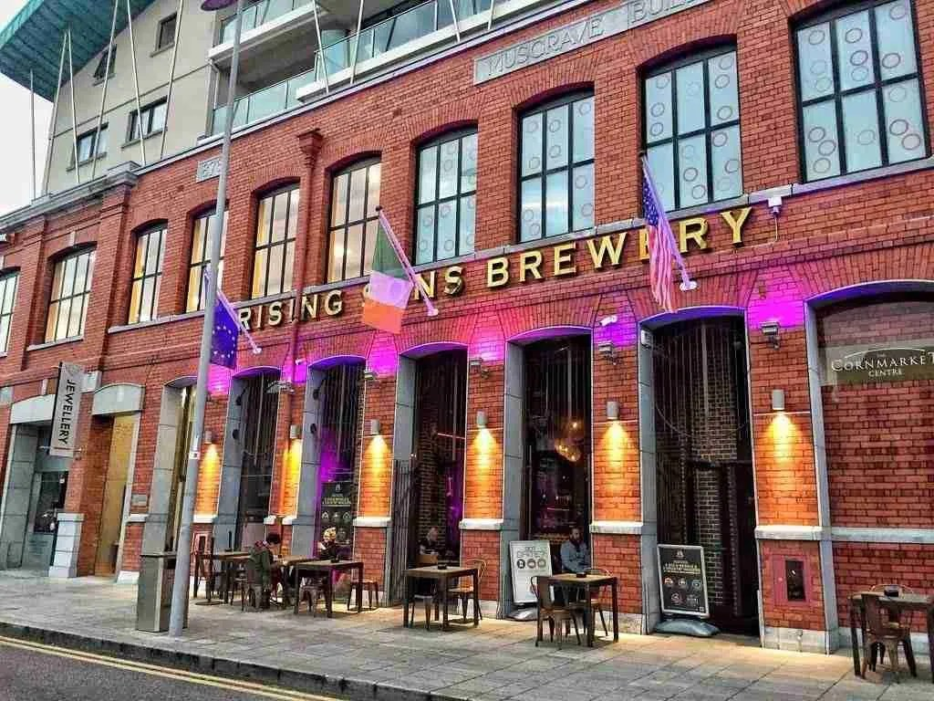 Rising Sons Brewery Cork Ireland