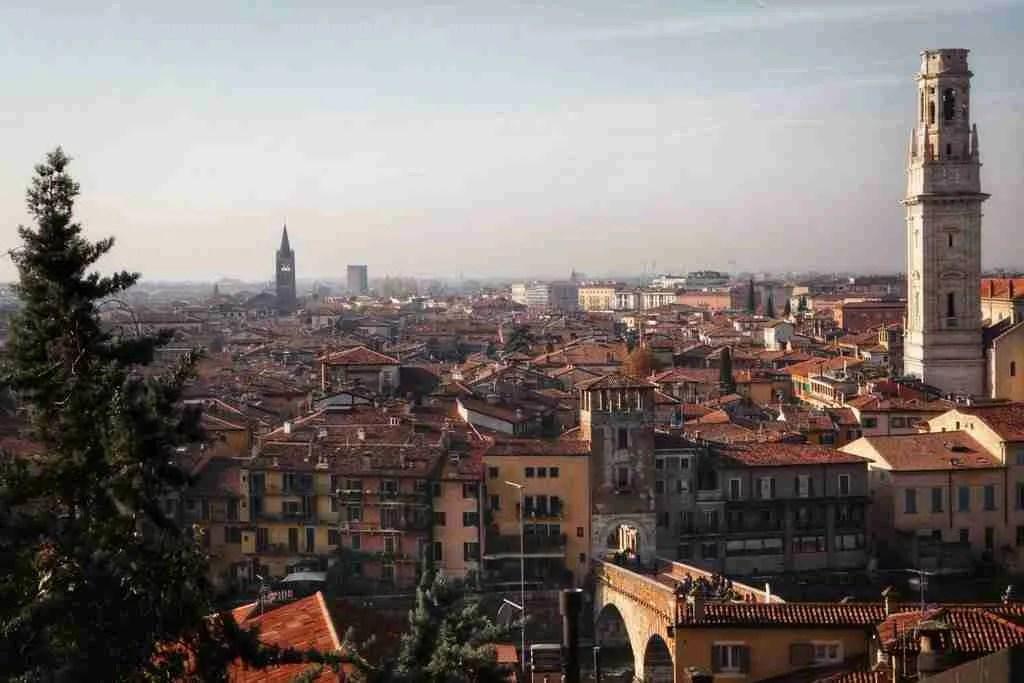 View of Verona from Castel San Pietro