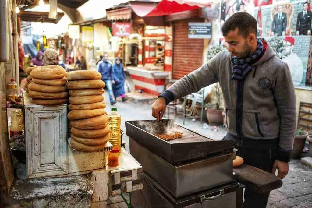 Fez Morocco Street Food