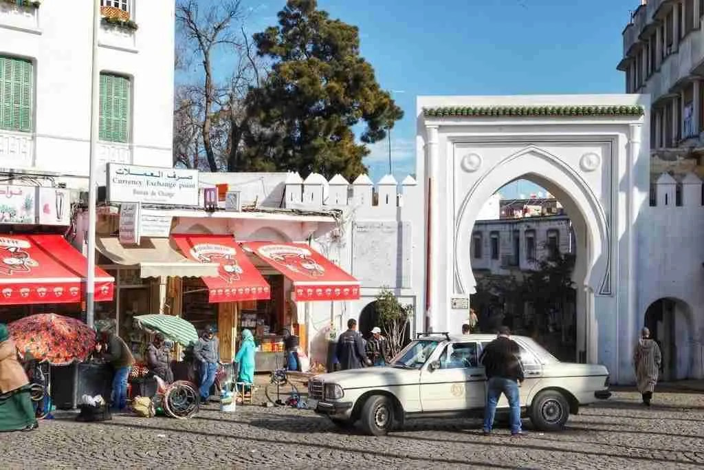 Place Avril in Tangier, Morocco