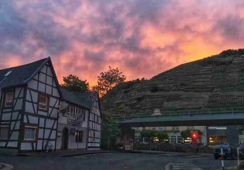 Walporzheim Germany Sunset