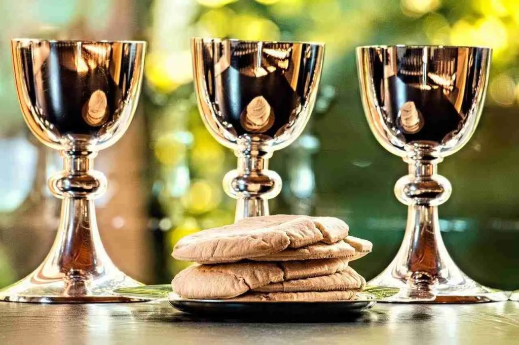 Parsha Miketz Silver Goblet