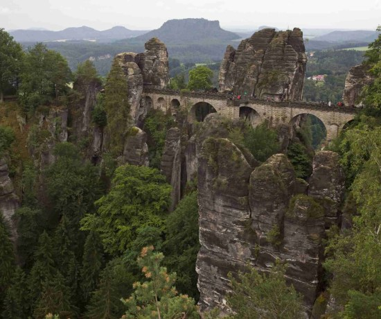 Bastei Bridge Saxony Switzerland National Park