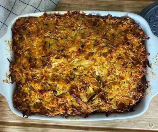 Paprika-Potato-Kugel