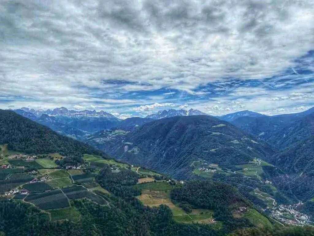 Oberbozen Italy Cable Car Seilbahn View