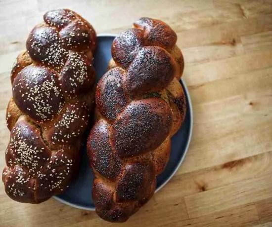 challah with white whole wheat flour