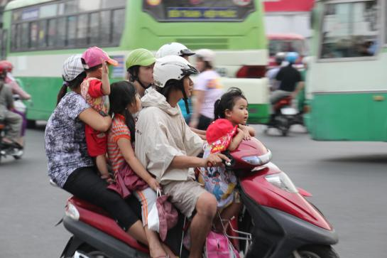 Image result for scooter family vietnam