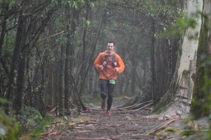 Mt Macedon - Running in the Rain