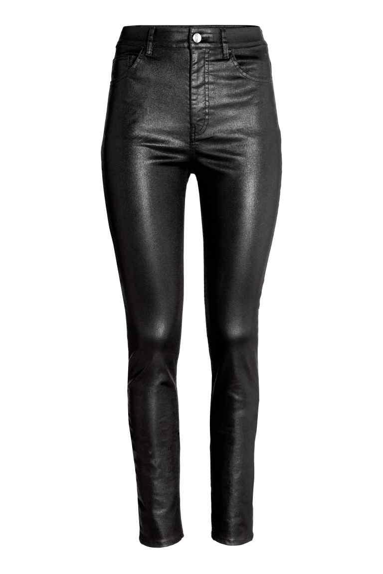 Pantalon taille haute - H&M