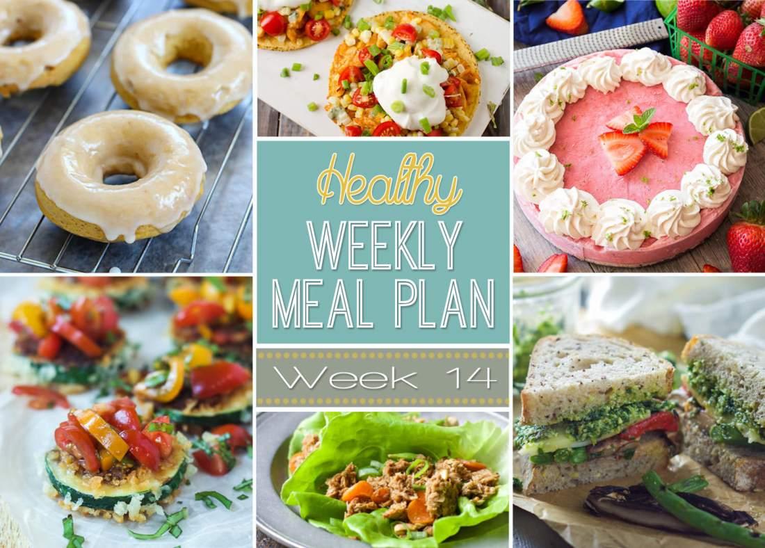 Healthy Meal Plan Week #14