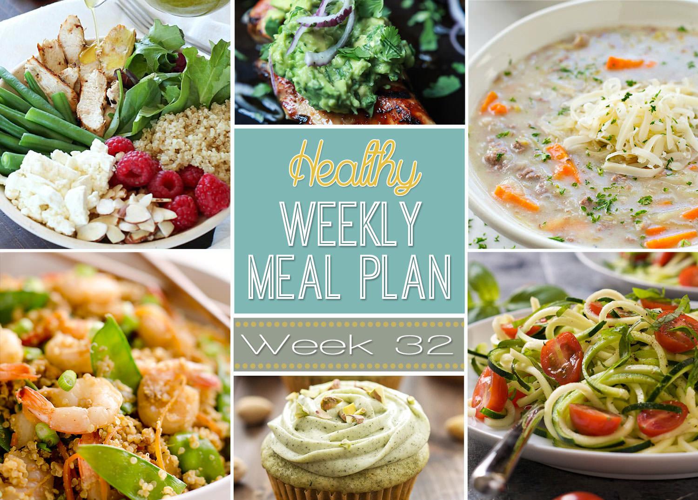 Healthy Weekly Meal Plan 32