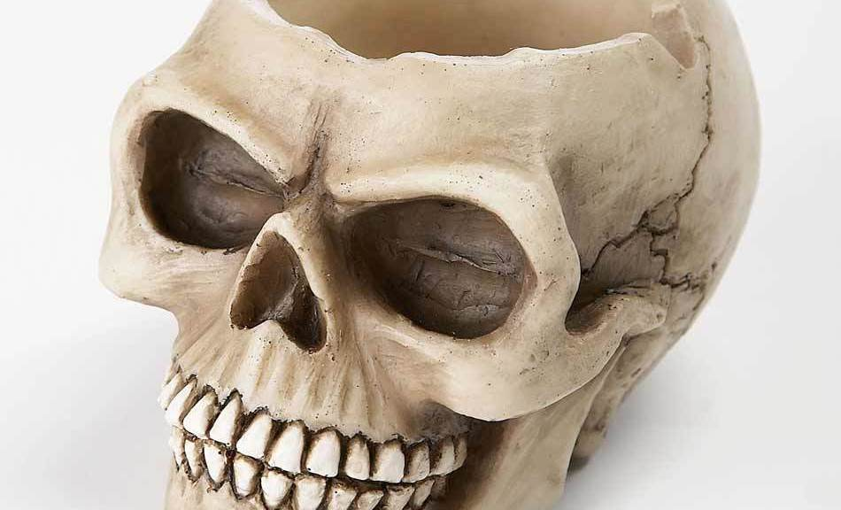skull ashtray to buy online