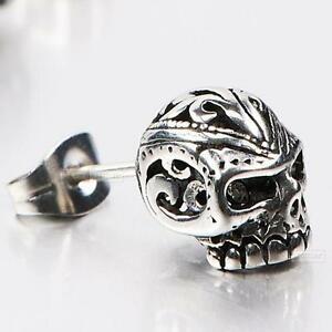 skull earings for men and woman