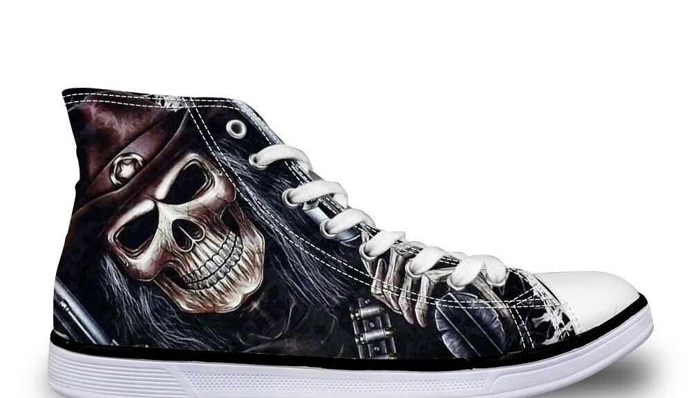 buy shoes with skulls