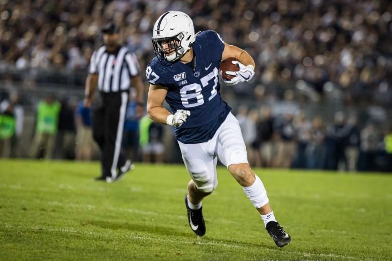 2021 NFL Draft: Pat Freiermuth back to Penn State Football a big boost