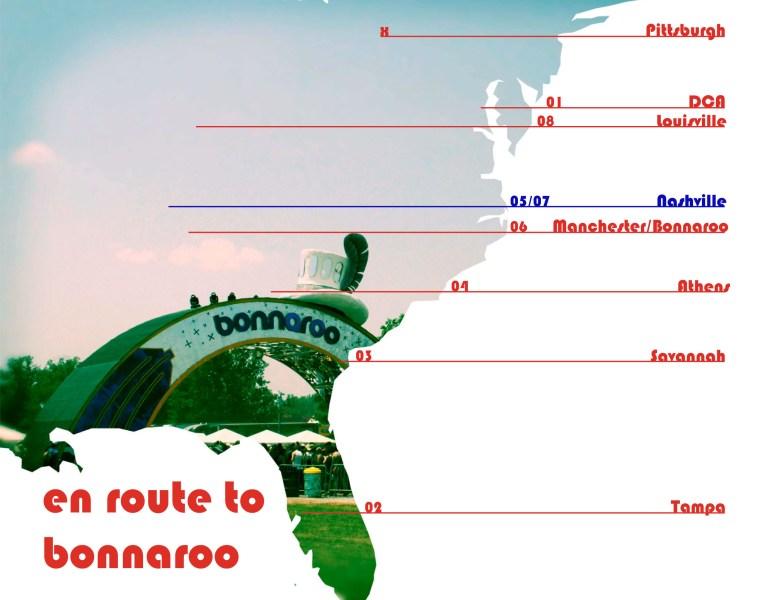 En Route to Bonnaroo:  Nashville (Part I)