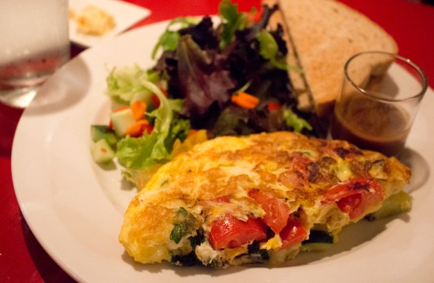 Eden Omelette and Salad