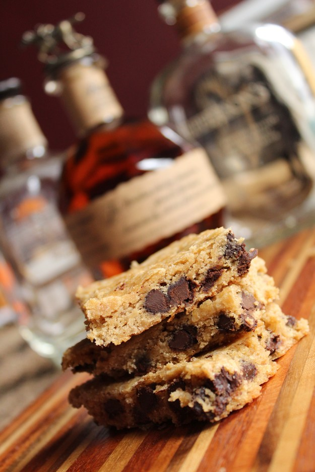 Bourbon Blondies for Battles