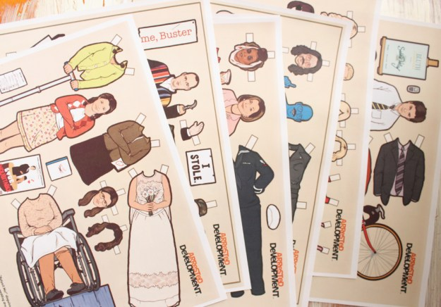 Bluth Family Paper Dolls