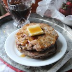 Strawberry & Pecan Buckwheat Pancakes