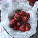 Strawberry & Pecan Buckwheat Pancakes