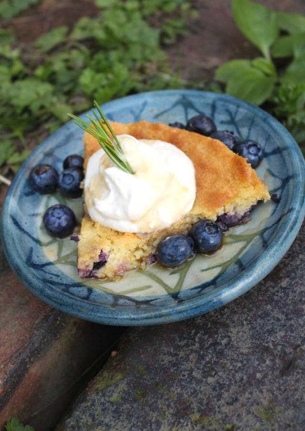 Lemon Rosemary Cake