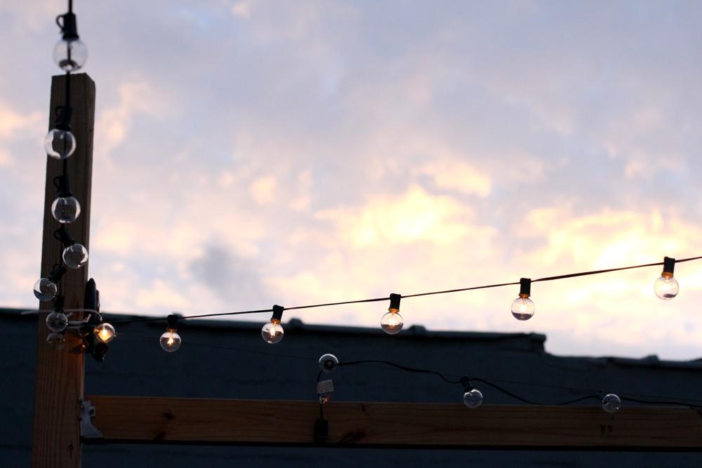 Sunset and Lights