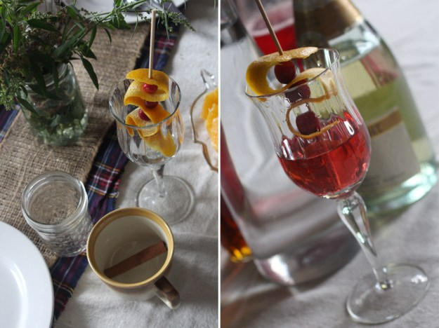 Cranberries and Champagne