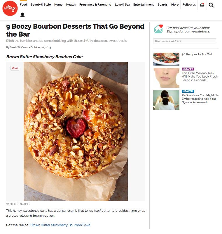 Boozy Bourbon Desserts That Go Beyond the Bar