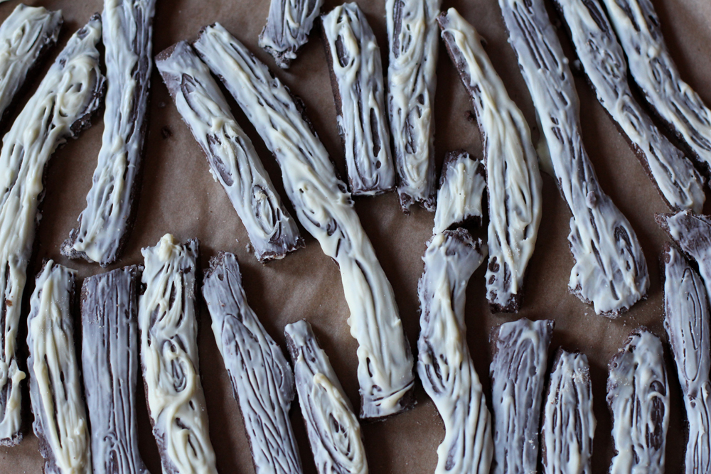 Whole Grain Chocolate Gingerbread Twigs // www.WithTheGrains.com