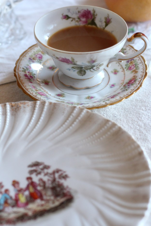 Coffee and Saucer