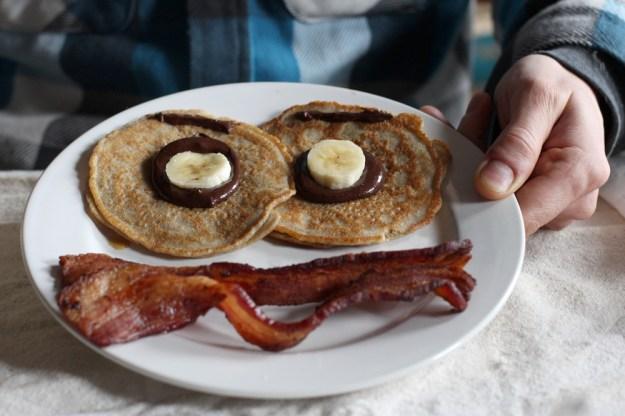 Happy Pancake Face