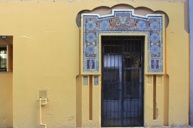 Tiled Door