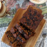 Whole Wheat Pumpkin Chocolate Chunk Bread