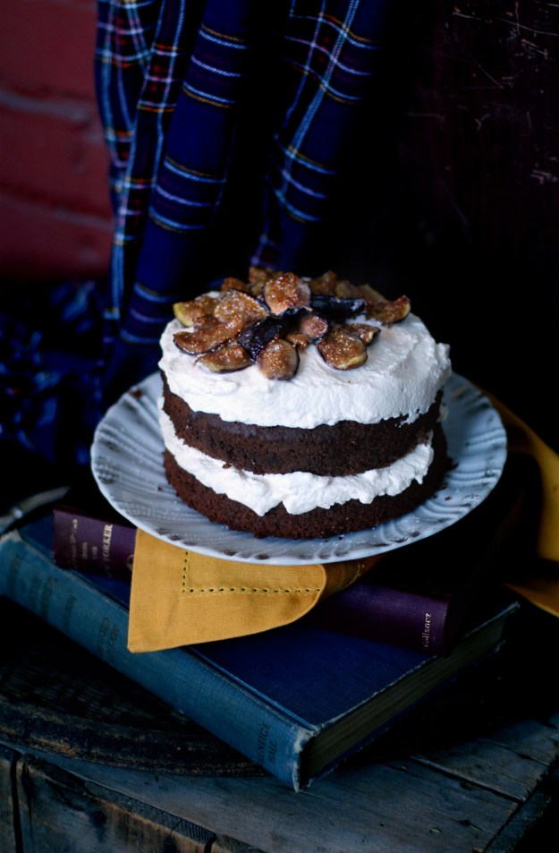 Whole Wheat Chocolate Wine Cake by With The Grains