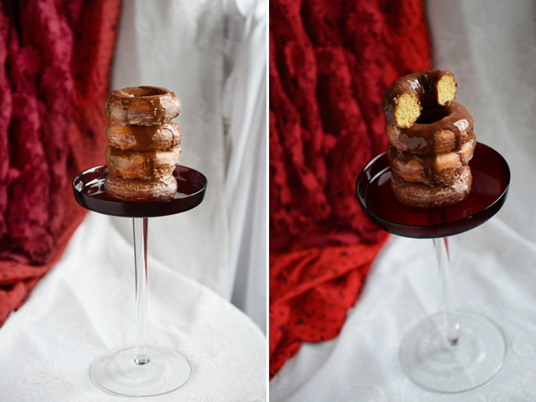 Donut o' the Month for Jojotastic: Chocolate Glazed Whole Wheat Donut