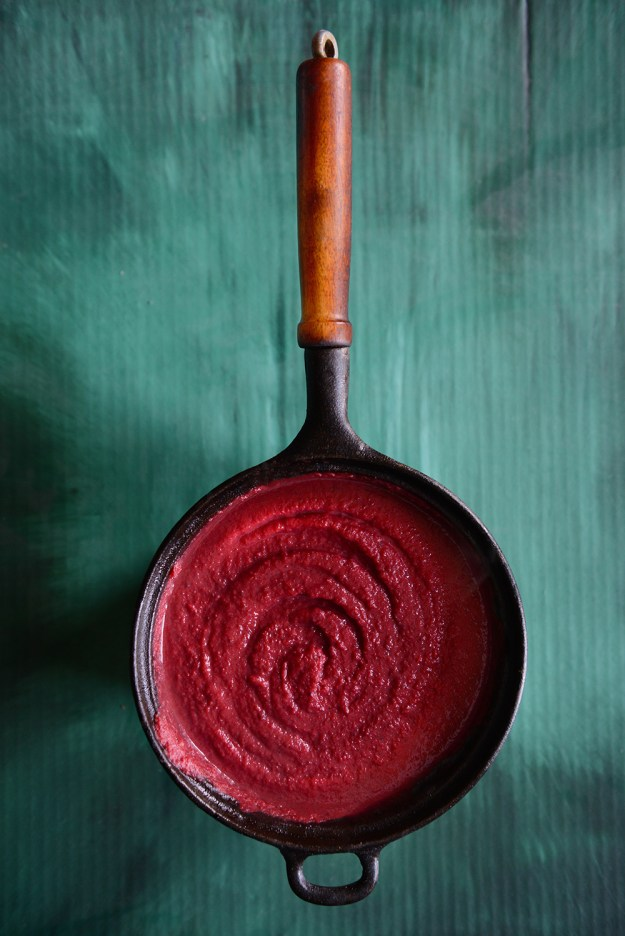 Beet Soup by With The Grains