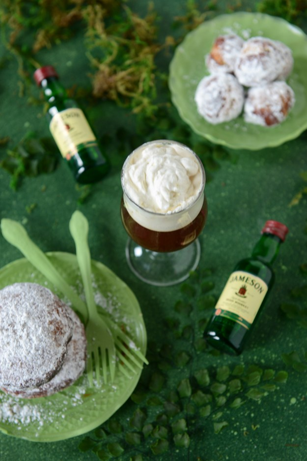 Gluten Free Irish Coffee Custard Donut by With The Grains