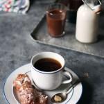 Spelt Flour Churros with Dark Chocolate Chile Sauce